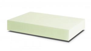 PUR 24/30 hellgrün, weich (Matratze 35-60 Kg, fester Rückenpolster)