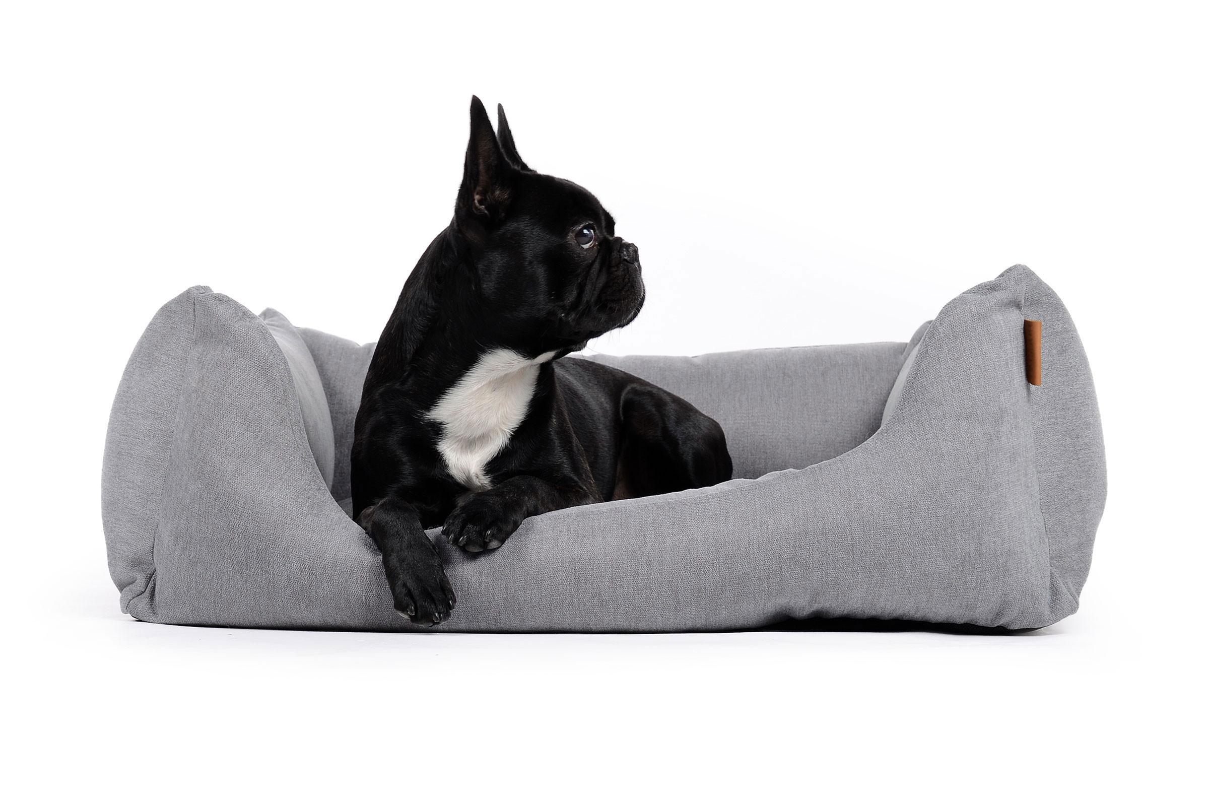 Hundebett aus kuscheligem und weichem Obermaterial - mypado ...