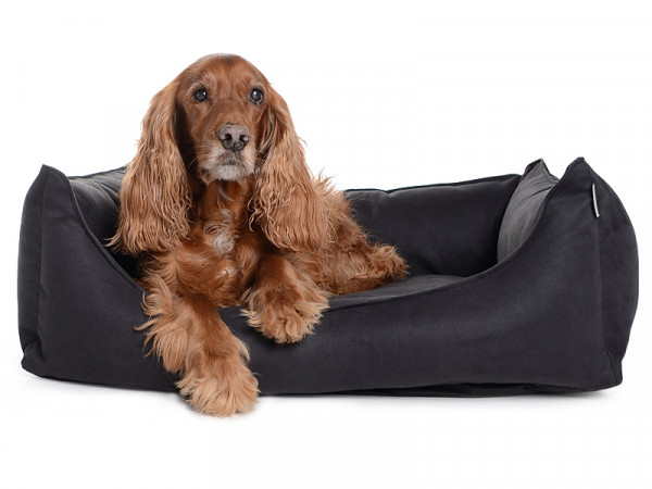 Hundebett Dreamcollection Wildlederimitat