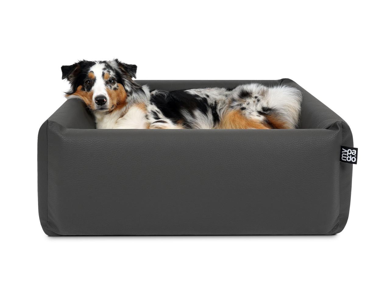 mypado Quadro Kunstleder-Premium Hundebett