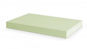 PUR 28/30 Hellgrün, mittelfest (Matratzen bis 45 Kg, Rückenpolster hohe Qualität)