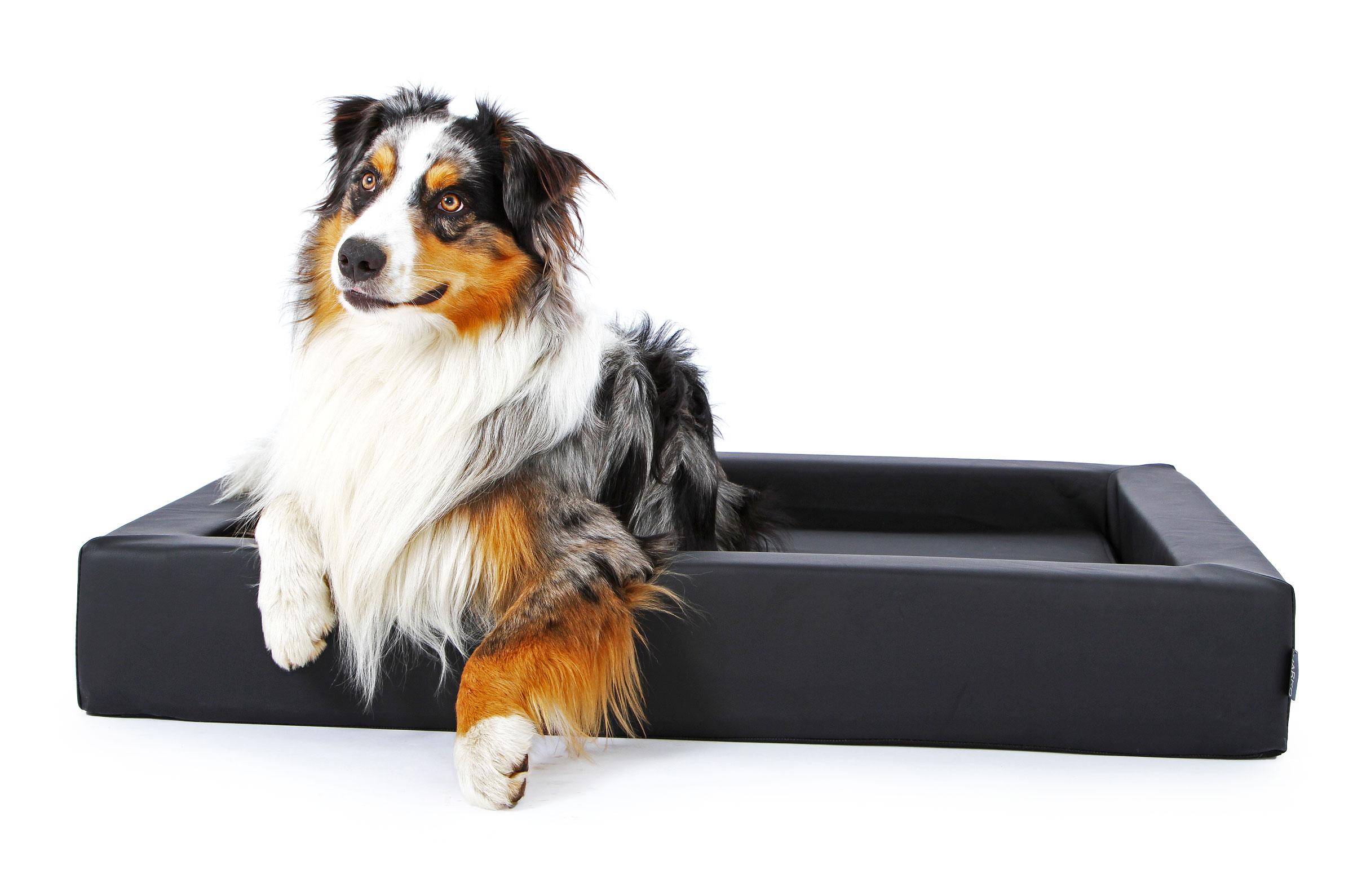 hundebett aus schmutzresistentem kunstleder harko. Black Bedroom Furniture Sets. Home Design Ideas